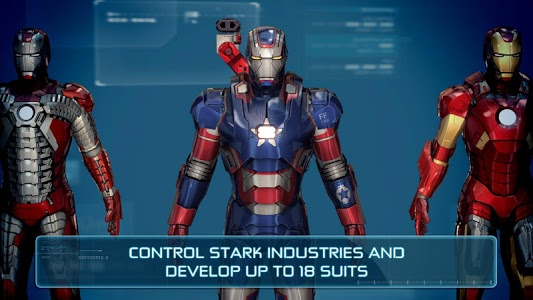 screenshot of Iron Man 3 - The Official Game version 1.6.9g