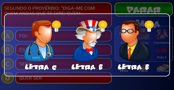screenshot of Jogo do Bilhão 2015 version 1.8.1