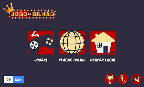 screenshot of Jogo do Bilhão 2017 version 3.0.2