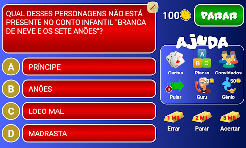 screenshot of Jogo do Bilhão 2016 version 2.2.2