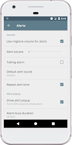 screenshot of Just Reminder with Alarm version 2.3.12