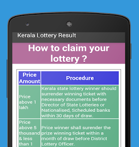 Download Kerala Lottery Results 2.0 APK