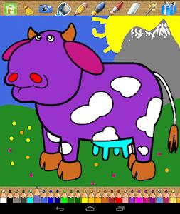 screenshot of ? Kids Coloring Book version 2018.12.18