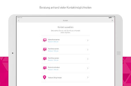 screenshot of MagentaSERVICE version 6.3.1