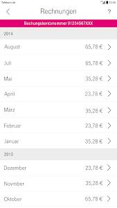 screenshot of Kundencenter version 5.3