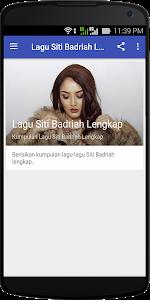Download Lagu Siti Badriah Lengkap 1.0 APK