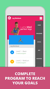 Download Leg Workouts Lumowell Trainer 1.1.34 APK