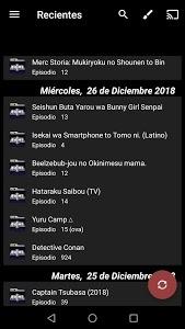 screenshot of Legión Anime FLV JK ID YT version 1.1.0.0