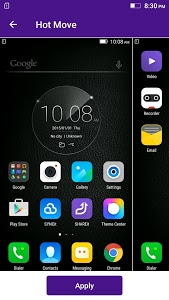 screenshot of Lenovo Theme Center version Varies with device