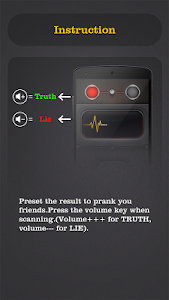 screenshot of Lie Detector Test Prank version 3.0.2
