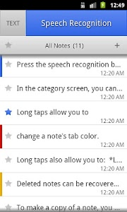 Download ListNote Speech-to-Text Notes 8.86 APK