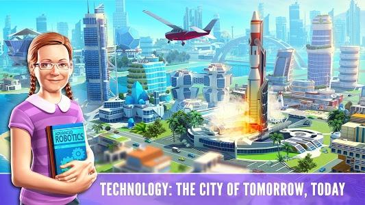 screenshot of Little Big City 2 version 9.3.1