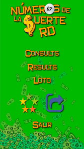 screenshot of Lucky Numbers RD version 3.0.0