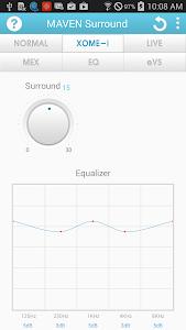 screenshot of MAVEN Music Player (3D Sound) version 2.48.39
