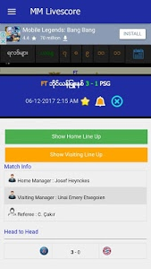 Download MM Livescore 3.4 APK