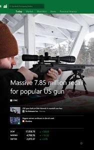 screenshot of MSN Money- Stock Quotes & News version 1.2.0