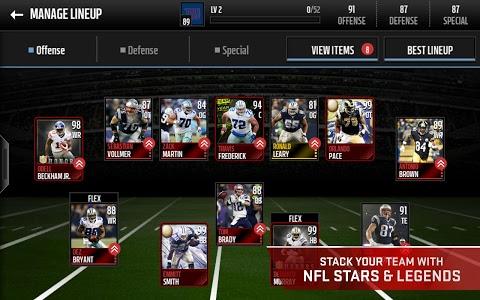 screenshot of Madden NFL Mobile version 2.7.3
