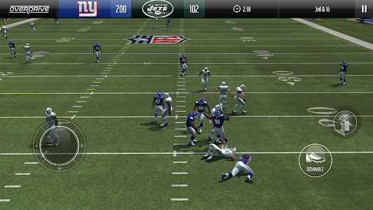 screenshot of Madden NFL Overdrive Football version 5.0.4