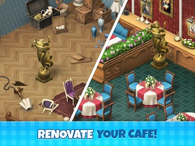 screenshot of Manor Cafe version 1.26.2
