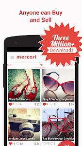 screenshot of Mercari: Anyone can buy & sell version 3.21