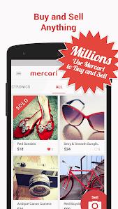 screenshot of Mercari: Anyone can buy & sell version 3.27