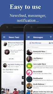 Download Messenger for Facebook Lite 1.0 APK