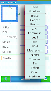 Download Metal Weight Calculator 5.90 APK