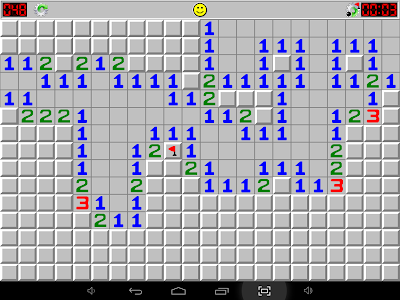 screenshot of Minesweeper version 1.5.2