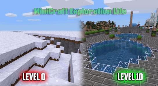 screenshot of MiniCraft Exploration Lite version 25.79