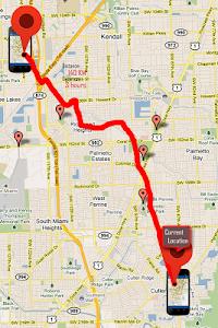 screenshot of Mobile Number Location Finder version 2.3