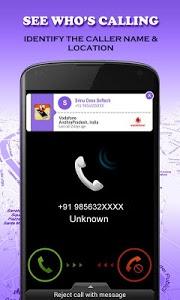 screenshot of Mobile Number Locator version 7.8.1