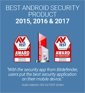 screenshot of Bitdefender Mobile Security & Antivirus version 3.3.032.612
