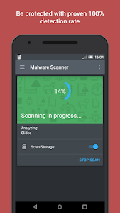 screenshot of Bitdefender Mobile Security & Antivirus version 3.3.034.631