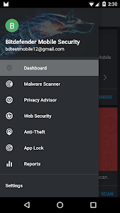 screenshot of Mobile Security & Antivirus version 3.2.57.4