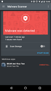 screenshot of Mobile Security & Antivirus version 3.2.72.52