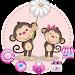 Download Monkey Cute Theme 1.1.11 APK