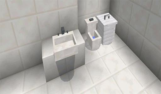 screenshot of Furniture Mod Minecraft MCPE version 1.7