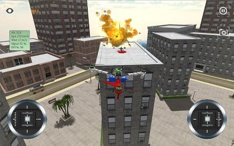screenshot of Multirotor Sim version 1.8.6