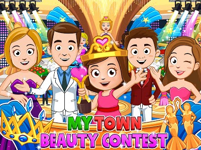 screenshot of My Town : Beauty Contest - FREE version 1.3