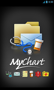 screenshot of MyChart version 3.0.1