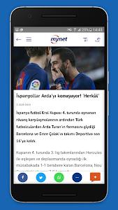 screenshot of Mynet Haber - Son Dakika Haber version 4.4.2