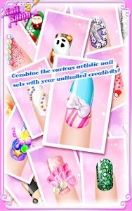 screenshot of Nail Salon 2 version 1.1