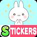 Download Namaiki-rabbit Stickers Free 1.1.24 APK