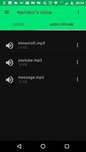 Download Narrator's Voice  APK