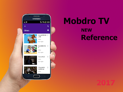 screenshot of New Mobdro TV Free Guide version 1.0