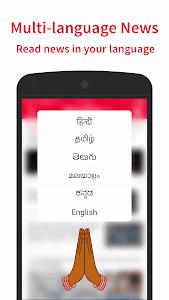 screenshot of NewsDog - Live India News version 2.3.2