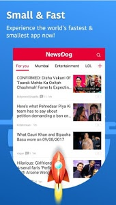 screenshot of NewsDog - Local News, Breaking News, Latest News version 2.4.5