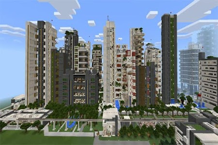 Download NxusMas City map for MCPE 1.6 APK