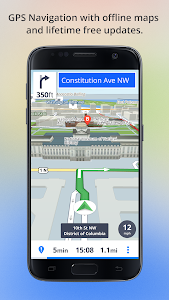 screenshot of Offline Maps & Navigation version Varies with device