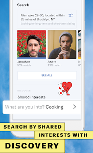 screenshot of OkCupid - The #1 Online Dating App for Great Dates version 25.0.0